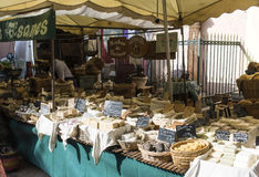 Soap and herbs Stall Stock Image