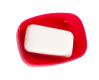 Soap isolated Stock Image
