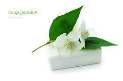 Soap with jasmine Royalty Free Stock Photos