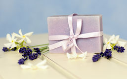 Soap of lavender stock photography