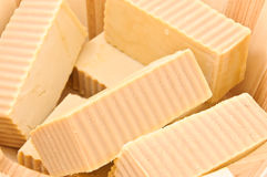 Soap macro Royalty Free Stock Image