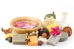 Soap made from natural ingredients. Stock Image