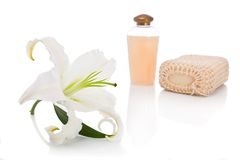 Soap with perfume Royalty Free Stock Photography