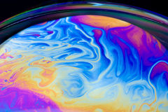 Soap planet royalty free stock images