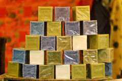 Soap pyramis Stock Photo