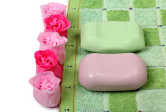 Soap of rose Royalty Free Stock Photo