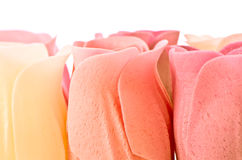 Soap roses Stock Images