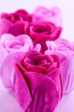 Soap roses Royalty Free Stock Images