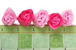 Soap roses Royalty Free Stock Image