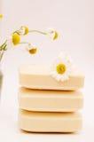 Soap for sensitive skin stock images