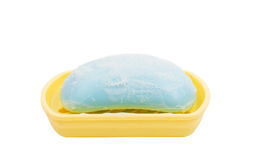 Soap in the soap dish Royalty Free Stock Images