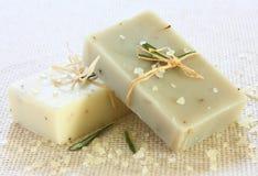 Soap.Spa hecho a mano natural Imagen de archivo libre de regalías