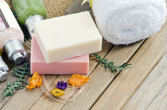 Soap spa Royalty Free Stock Images