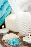Soap and SPA setting Royalty Free Stock Photo