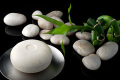 Soap and stones Royalty Free Stock Photography