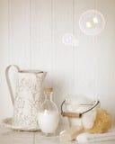 Soap Suds & Bubbles Stock Photo