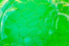 Soap suds extreme closeup creating beautiful pattern Stock Images