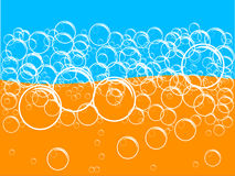Soap Suds (Vector). An illustration of Soap Suds for background royalty free illustration