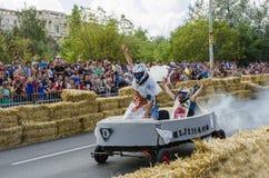 Soapbox Bucarest 2014 de Red Bull Foto de archivo libre de regalías