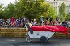 Soapbox Bucarest 2014 de Red Bull Imagen de archivo