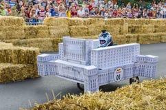 Soapbox Bucarest 2014 di Red Bull Fotografia Stock