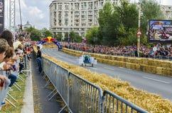 Soapbox Bucarest 2014 di Red Bull Fotografie Stock Libere da Diritti