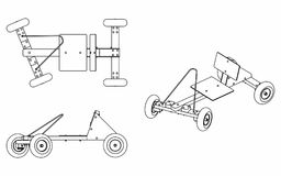 Car outline stock illustrations 19485 car outline stock soapbox car only outline car to play on slopes royalty free stock photos malvernweather Image collections