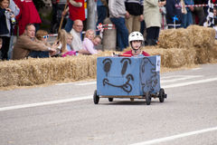 Soapbox derby Royalty Free Stock Images