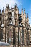 Soapbubbles и стена собора Кёльна Стоковые Фото