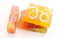 Soaps isolated Royalty Free Stock Photography