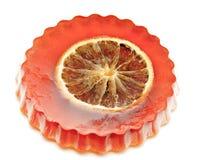 Soaps orange Stock Image