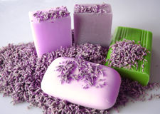 Soaps scented Stock Photography