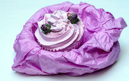 Soaps shaped cupcake Royalty Free Stock Photos
