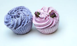 Soaps shaped cupcake Stock Photo