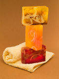 Soaps. Tower shot from below Stock Photography