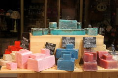 Soaps With Natural Flavors Royalty Free Stock Photo