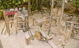 Soapstone Handicraft Workplace Station Stock Images