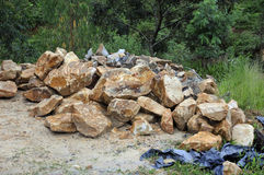 Soapstone Raw Material Stock Photos