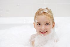 Soapy Bath Royalty Free Stock Photo