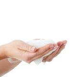 Soapy foam Royalty Free Stock Photo