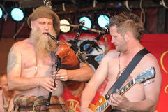 Soar Patrol Live At MPS (Medieval Phantasie Spectaculum), Weil Am Rhein, 2012 Stock Image