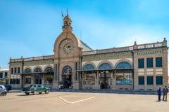 Soarano火车站在安塔那那利佛 图库摄影