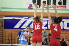 Soares Solange - volleyball Royalty Free Stock Photography