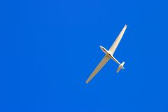 Soaring through blue sky Royalty Free Stock Photography
