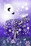 Soaring butterflies-2 royalty free illustration