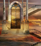 Soaring gate Royalty Free Stock Images