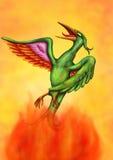 Soaring Phoenix II (2016) Royalty Free Stock Image