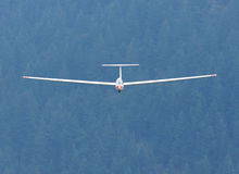 Soaring Sailplane Glider Stock Photography