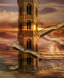 Soaring Towers Royalty Free Stock Photography