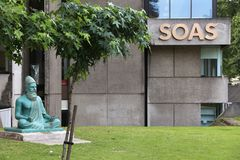 SOAS universitet av London Royaltyfria Foton